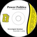 Sovereignty Seminar Nov. 7 2009