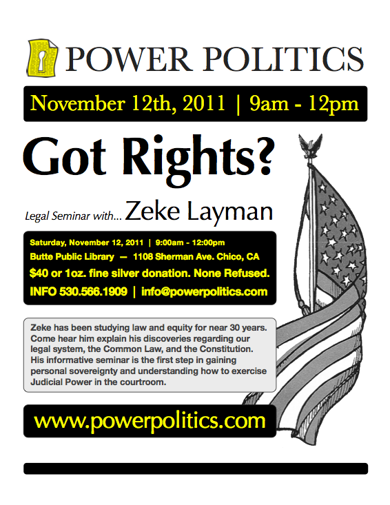 Got Rights? Seminar Flier